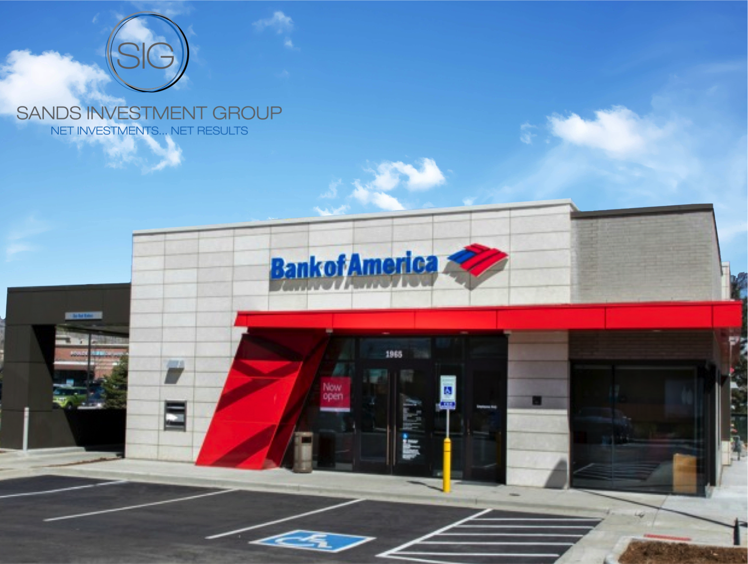Bank of America with LOGO