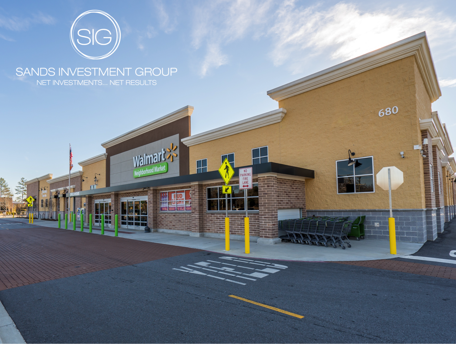 net lease properties sig walmart neighborhood market